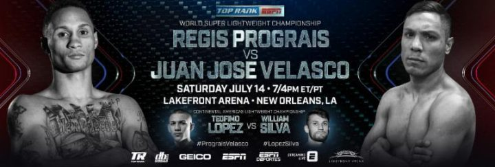 "- Latest Charles Conwell Juan Jose Velasco Prograis vs. Velasco Regis ""Rougarou"" Prograis Travis Scott"