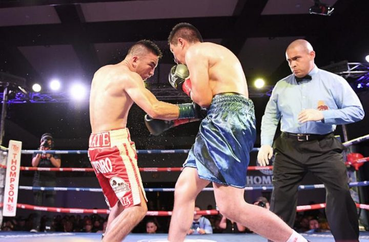 "Isaac Zarate Finishes ""New Blood"" with Points Win Friday Night"