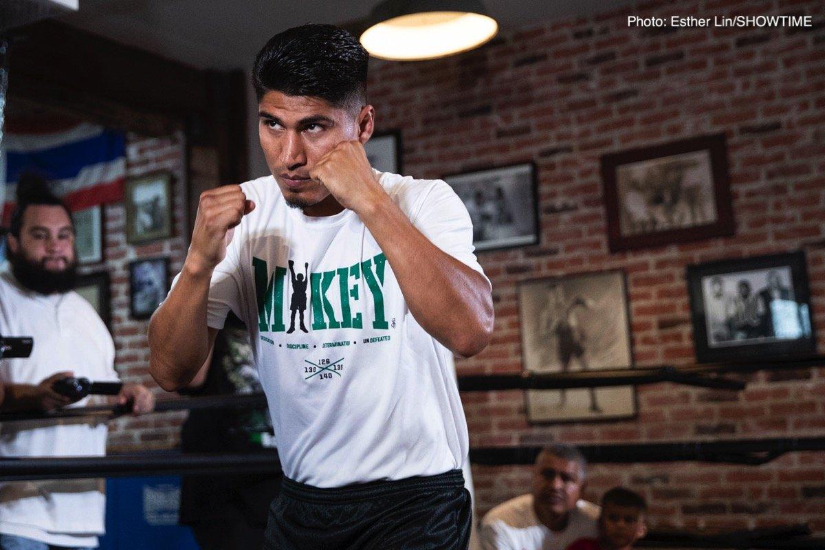 Danny Garcia Manny Pacquiao Mikey Garcia Pacquiao vs. Garcia
