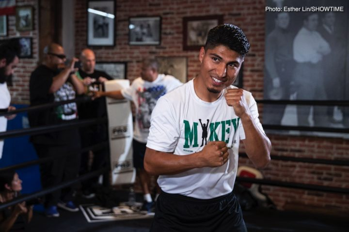 - Latest Mikey Garcia Garcia vs. Easter Jr. Robert Easter Jr.