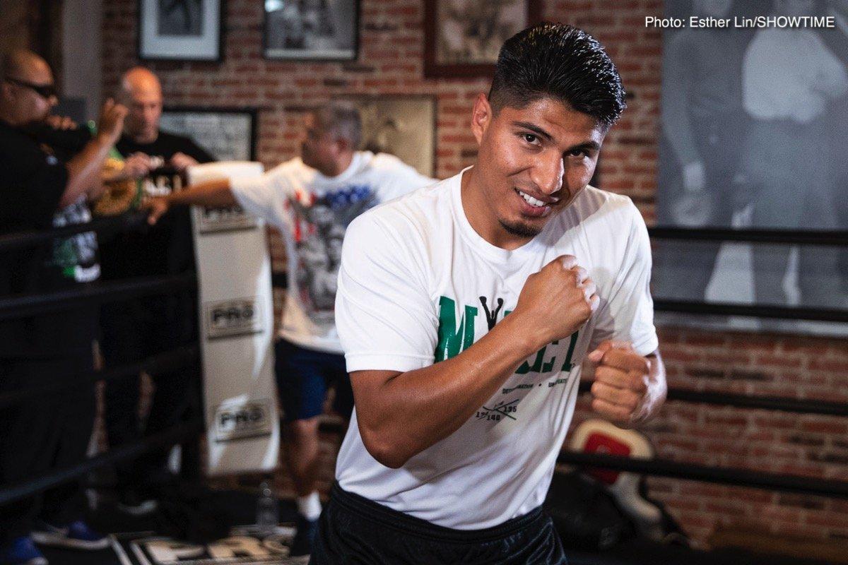 Manny Pacquiao Mikey Garcia Pacquiao vs. Garcia