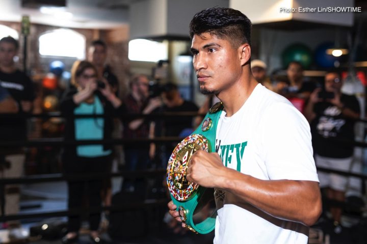 Errol Spence Jr Mikey Garcia Garcia vs. Easter Jr. Robert Easter Jr.