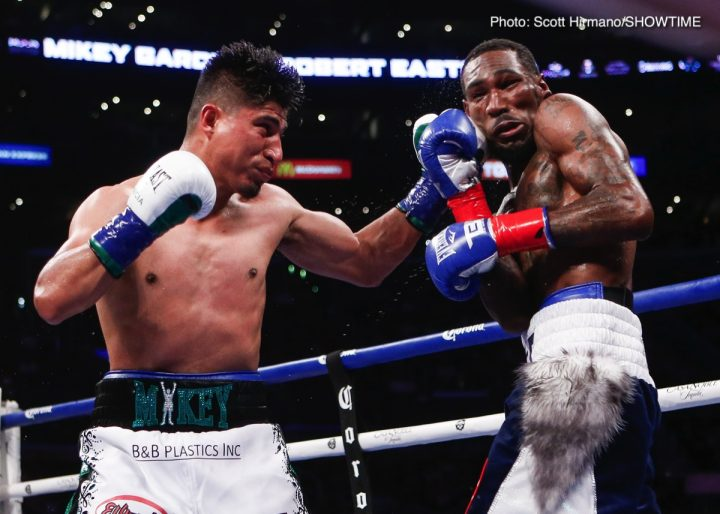 Errol Spence Jr Mikey Garcia Chris Algieri Spence vs. Garcia