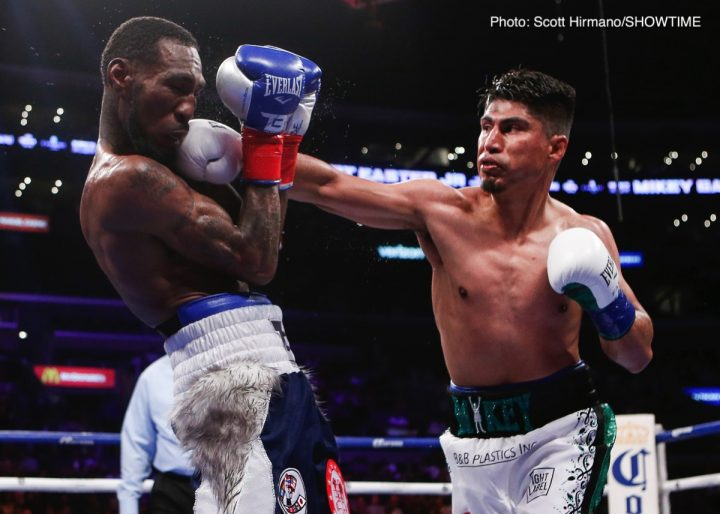 Errol Spence Jr Mikey Garcia Alex Ariza Spence vs. Garcia