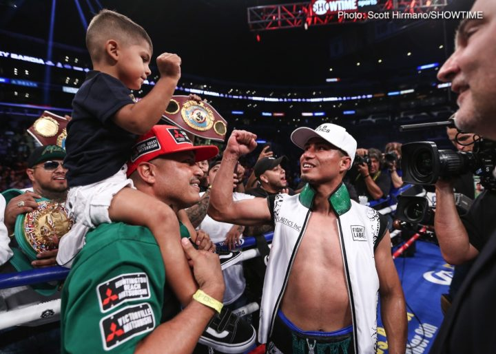 Errol Spence Jr Mikey Garcia