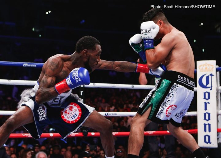 Mikey Garcia Garcia vs. Easter Jr. Robert Easter Jr.