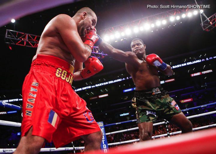 Anthony Joshua Derek Chisora Dillian Whyte Eddie Hearn Luis Ortiz Whyte vs. Ortiz