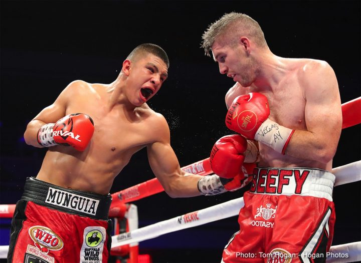 - Latest Alberto Machado Jaime Munguia Liam Smith