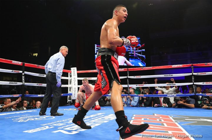 Latest Jaime Munguia Liam Smith Munguia vs. Smith