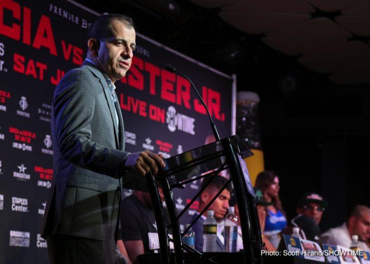 - Latest Mikey Garcia Garcia vs. Easter Jr. Robert Easter Jr.