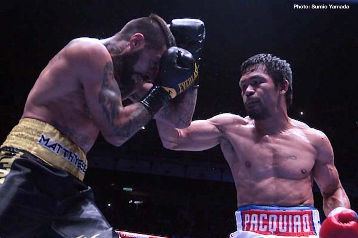 Lucas Matthysse Manny Pacquiao