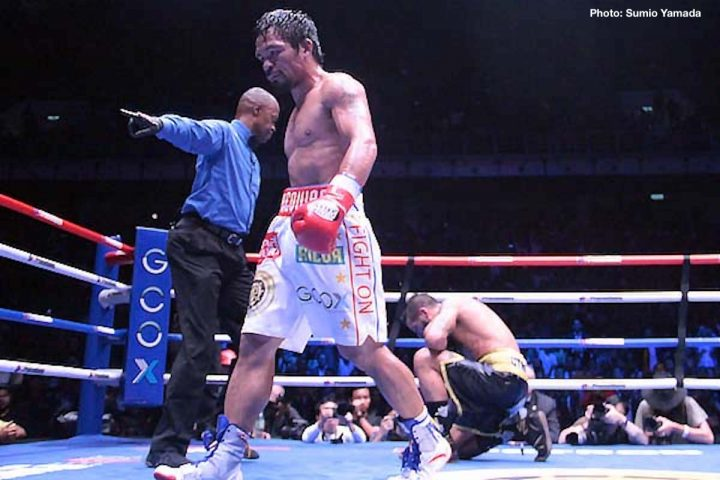- Latest Manny Pacquiao