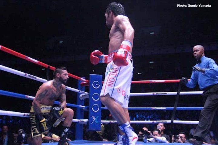 Adrien Broner Freddie Roach Manny Pacquiao Pacquiao vs. Broner