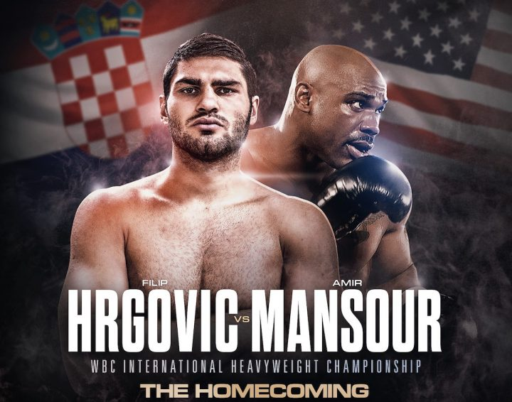 - Latest Amir Mansour Filip Hrgovic