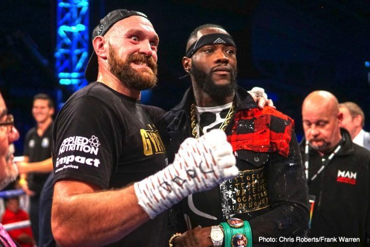Deontay Wilder Francesco Pianeta Tyson Fury Fury vs. Pianeta Fury vs. Wilder