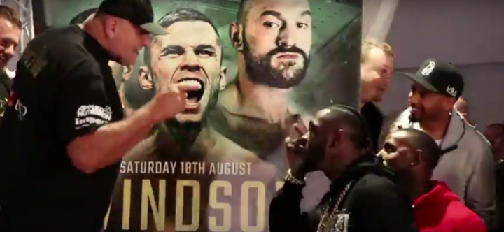 Deontay Wilder Francesco Pianeta Tyson Fury Fury vs. Pianeta
