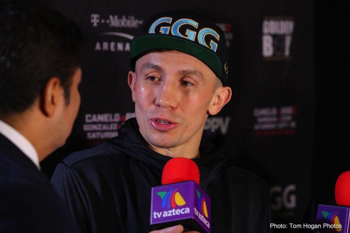 Canelo Alvarez Freddie Roach Gennady Golovkin
