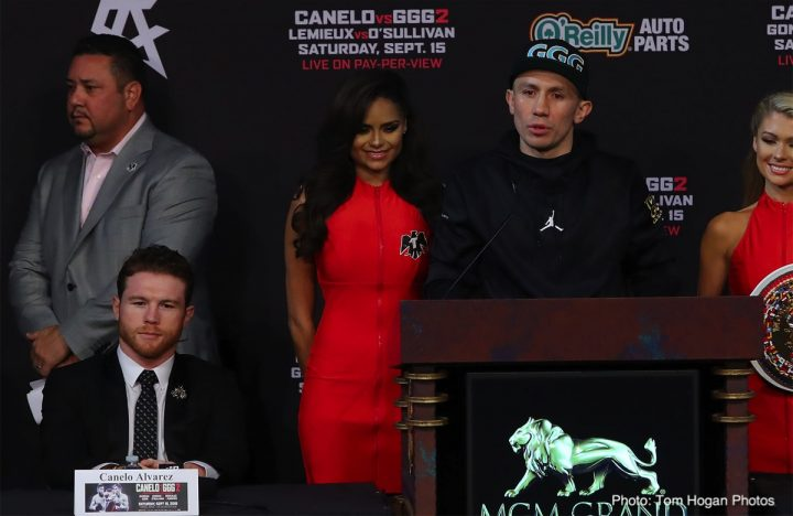 acb45031c8551c Canelo vs. GGG 2 final press conference quotes   photos » Boxing ...