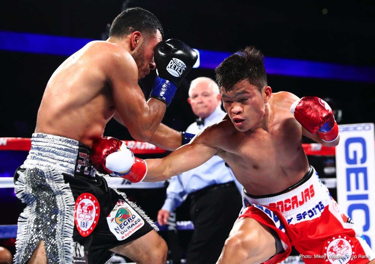 Uzcategui vs. Maderna & Ancajas vs. Santiago - Results