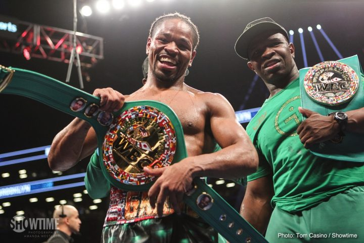 Errol Spence Jr Shawn Porter Spence vs. Porter