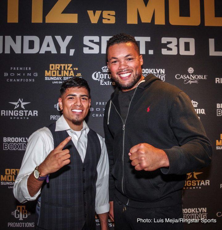 - Latest John Molina Victor Ortiz Iago Kiladze Joe Joyce Joyce vs. Kiladze Ortiz vs. Molina