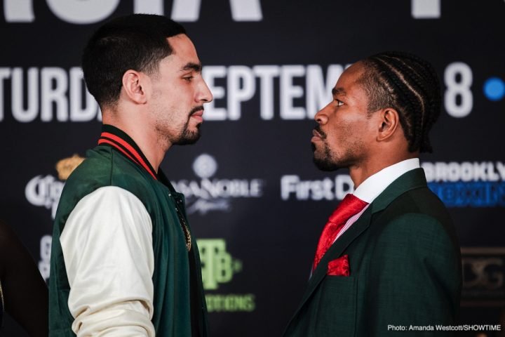 - Latest Danny Garcia Shawn Porter Garcia vs. Porter