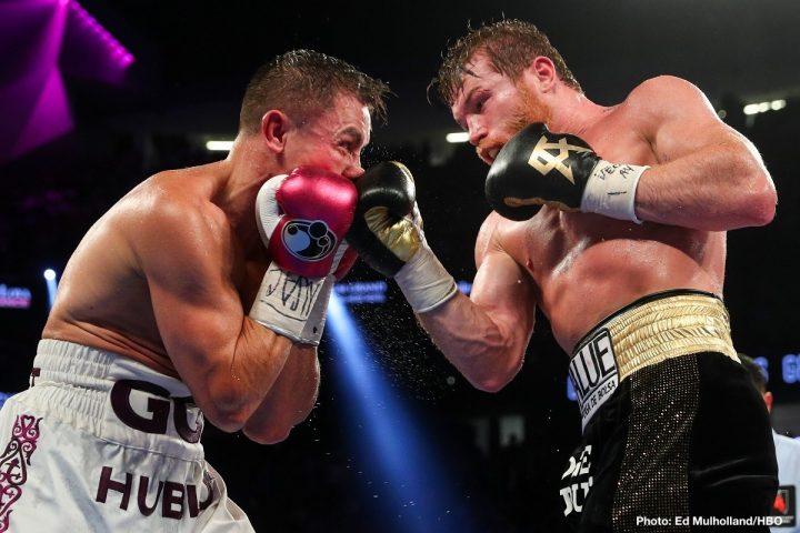 Gennady Golovkin Saul Alvarez Canelo vs. Golovkin III Eric Gomez Golden Boy Promotions