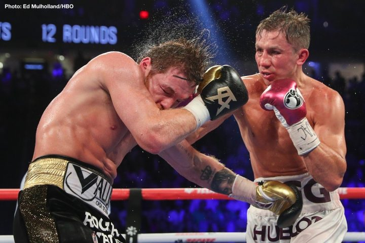 Gennady Golovkin Callum Smith Eddie Hearn Golovkin vs. Smith Tom Loeffler