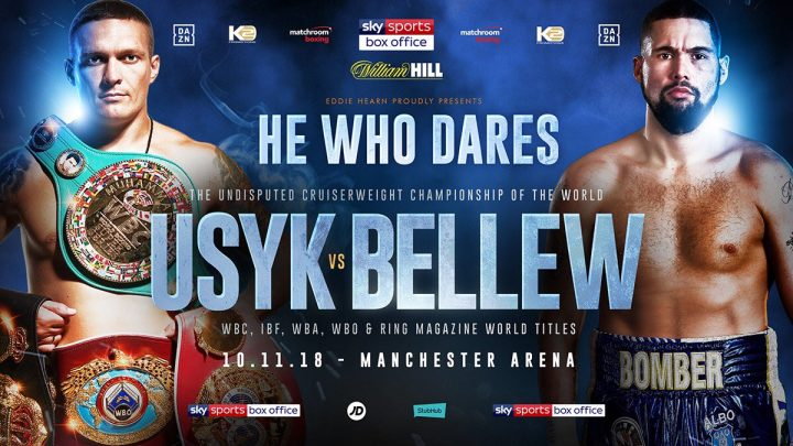 Aleksandr Usyk Anthony Joshua Tony Bellew Usyk vs. Bellew