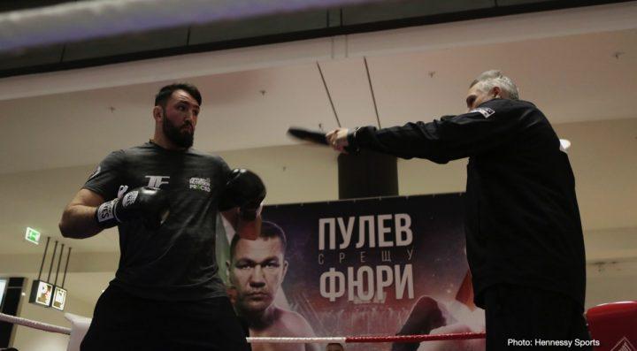 - Latest Kubrat Pulev Hughie Fury Pulev vs. Fury