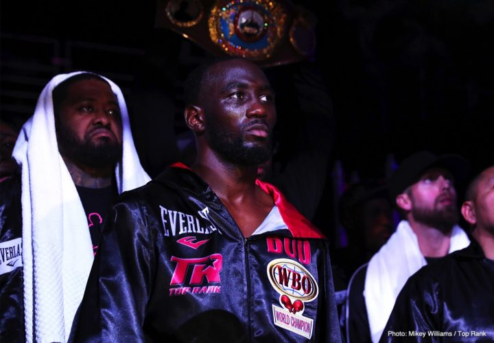 Terence Crawford vs Amir Khan to be announced this Tues, Jan.15