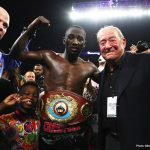 Arum optimistic Terence Crawford vs. Errol Spence fight gets made