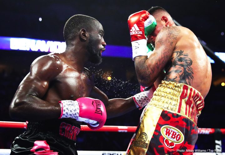 Amir Khan Terence Crawford Bob Arum Crawford vs. Khan ESPN top rank
