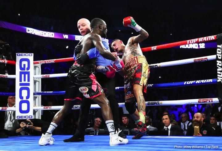 Amir Khan Errol Spence Jr Keith Thurman Crawford vs. Khan