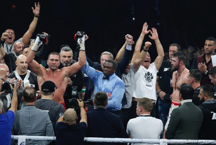 - Latest Kubrat Pulev