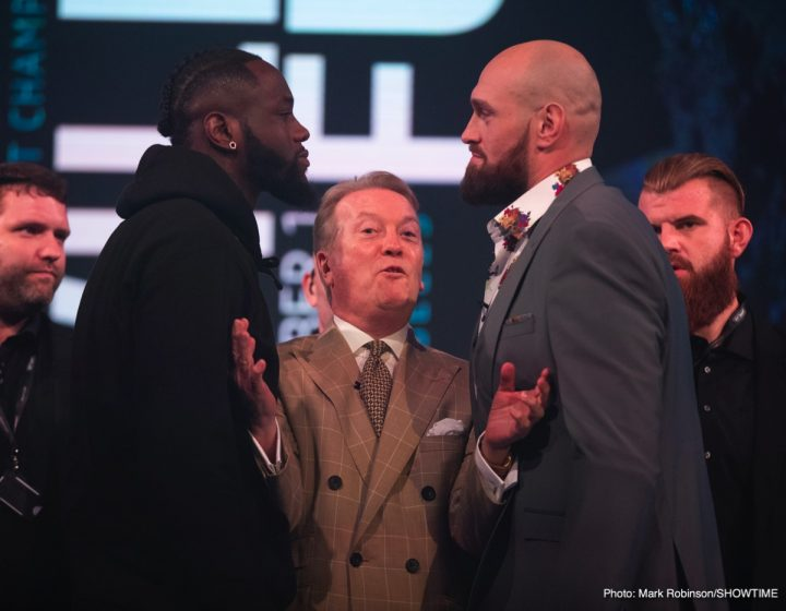 Deontay Wilder Tyson Fury Mauricio Sulaiman WBC Clean Boxing Program Wilder vs. Fury