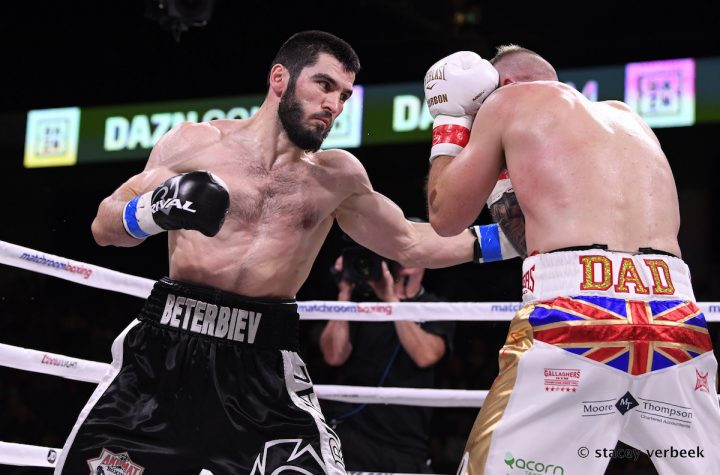 Artur Beterbiev Beterbiev vs. Barrera Sullivan Barrera Top Rank Boxing