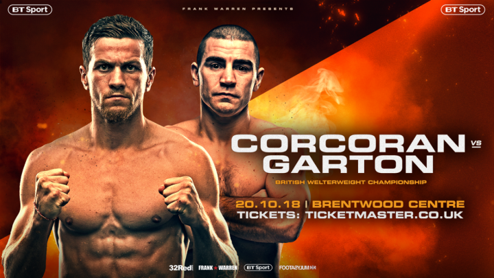 - Latest Corcoran vs. Garton Gary Corcoran Johnny Garton