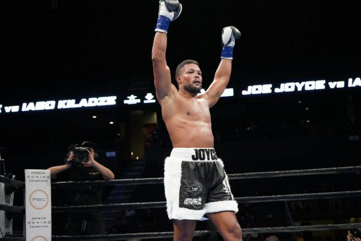 Latest Adam Kownacki Dominic Breazeale JOE HANKS Joyce vs. Hanks Luis