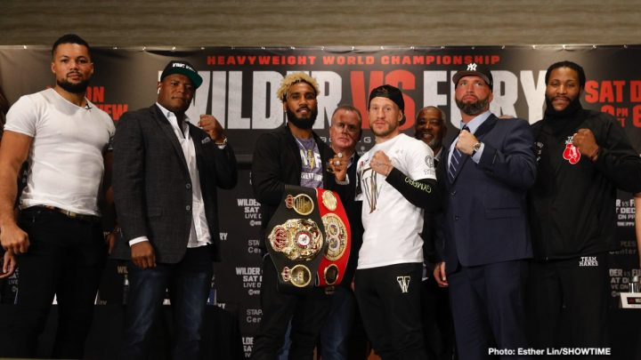 - Latest Deontay Wilder Tyson Fury Hurd vs. Welborn Jarrett Hurd Jason Welborn JOE HANKS Joe Joyce Joyce vs. Hanks Luis