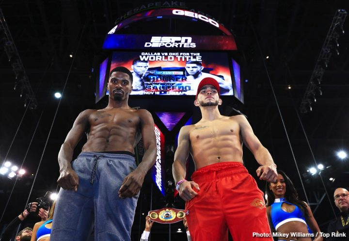 - Latest Alex Saucedo Hooker vs. Saucedo Maurice Hooker