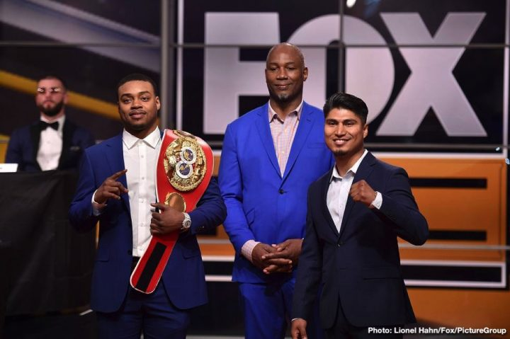 - Latest Errol Spence Jr Mikey Garcia Spence vs. Garcia