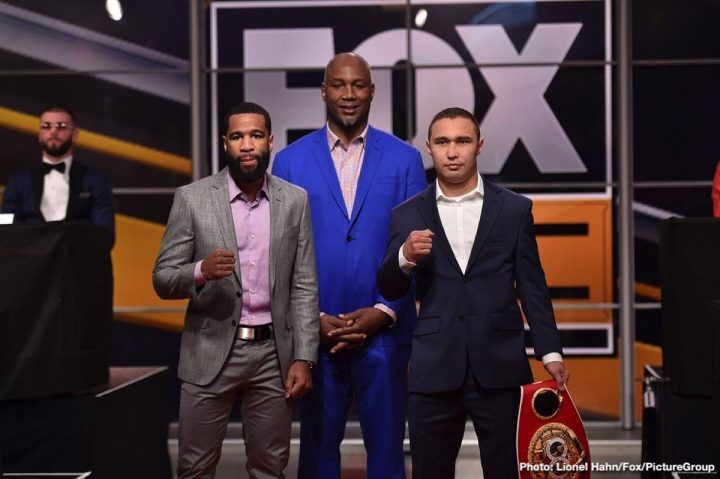 lamont peterson Peter Quillin Caleb Truax Peterson vs. Lipinets Sergey Lipinets Truax vs. Quillin