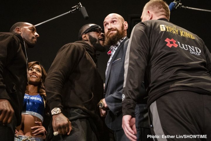 Deontay Wilder Freddie Roach Tyson Fury Wilder vs. Fury