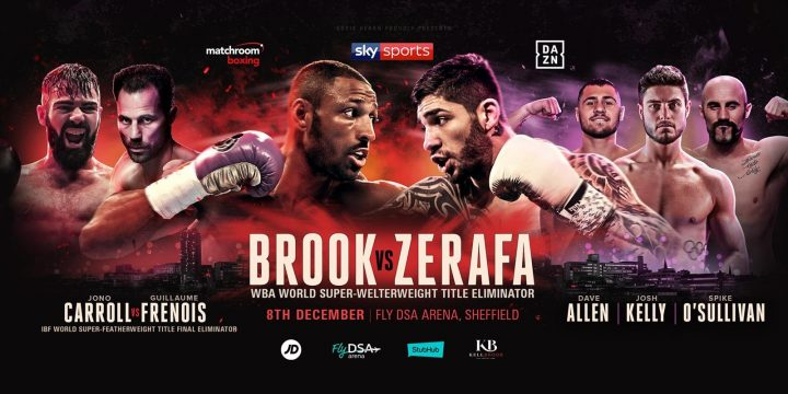 Kell Brook Brook vs. Zerafa Michael Zerafa
