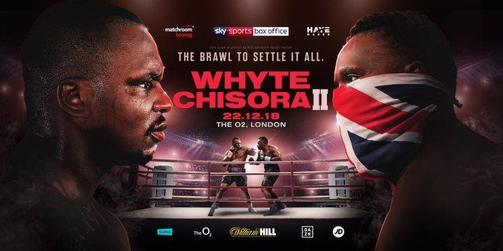 Image result for Dillian Whyte vs. Dereck Chisora