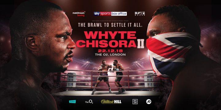 Derek Chisora Dillian Whyte Eddie Hearn Whyte vs. Chisora2