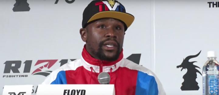 Floyd Mayweather Jr Oscar De La Hoya Mayweather vs. Nasukawa
