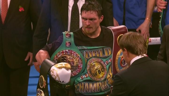 Aleksandr Usyk Alexander Povetkin Eddie Hearn Matchroom Boxing