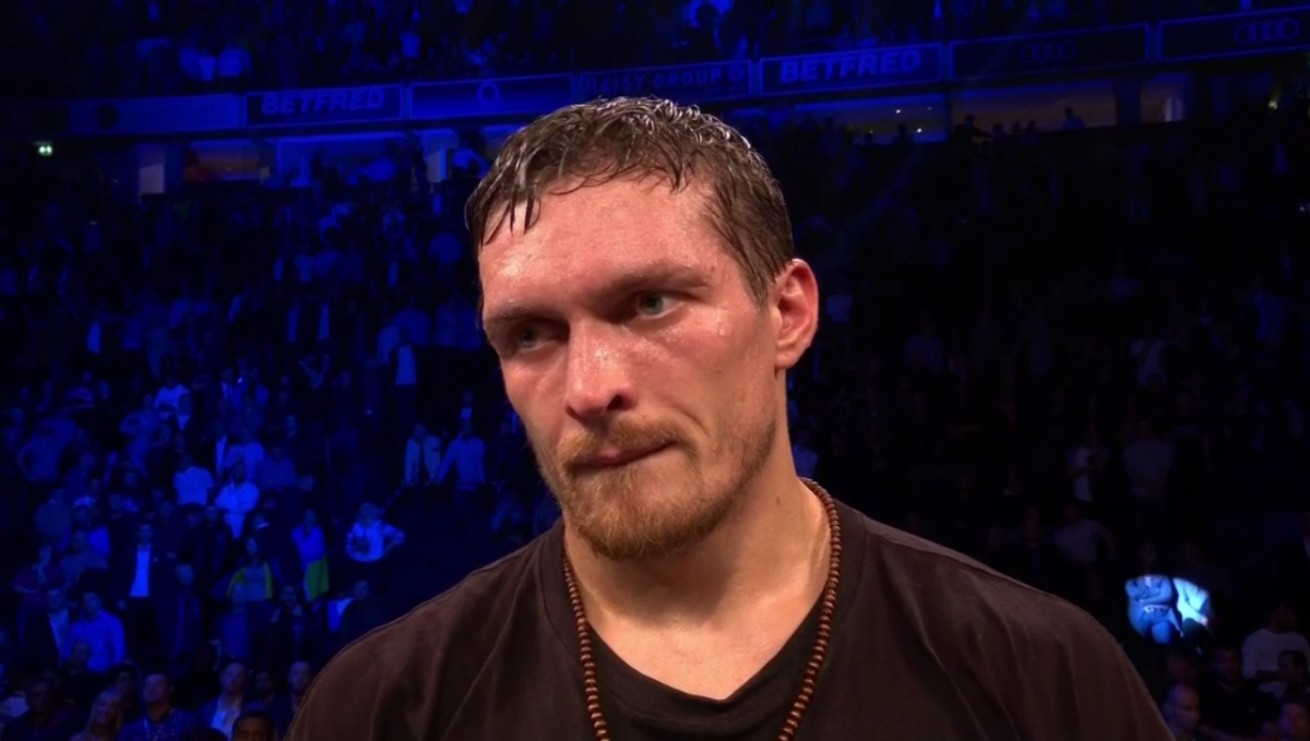 "VIDEO: Oleksandr Usyk: ""I've Been Preparing For Heavyweight All My Career"""